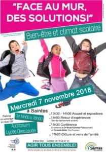 Journée nationale contre le harcèlement scolaire @ Auditorium du lycée Desclaude à Saintes