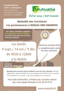 Mutualia: Permanences @ Mairie