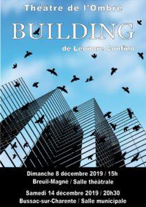 """Théâtre: """"Building"""" @ La salle municipale"""