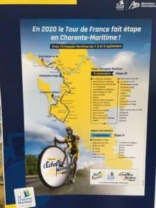 Exposition sur l'histoire du Tour de France en Charente Maritime @ Bibliothèque Guy Chapuis