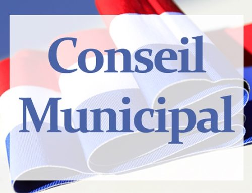 Conseil Municipal du 7 septembre 2020