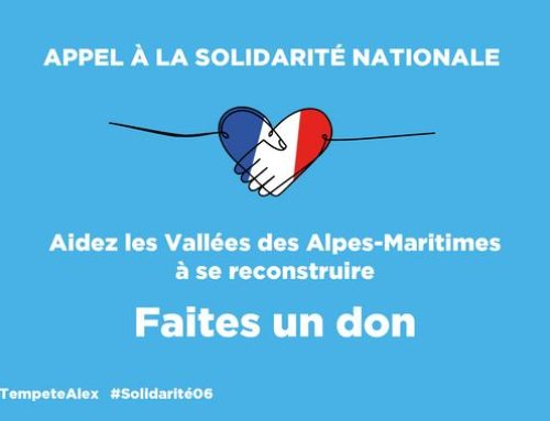 Appel aux dons pour les sinistrés des Alpes-Maritimes
